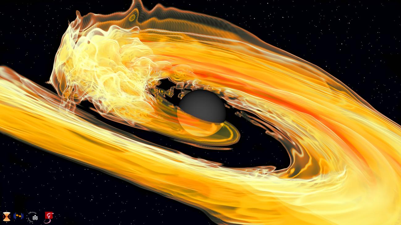 BHNS tidal disruption - Detectores Virgo en Europa y LIGO en USA  han registrado por primera vez ondas gravitacionales de agujero negro con estrella de neutrones