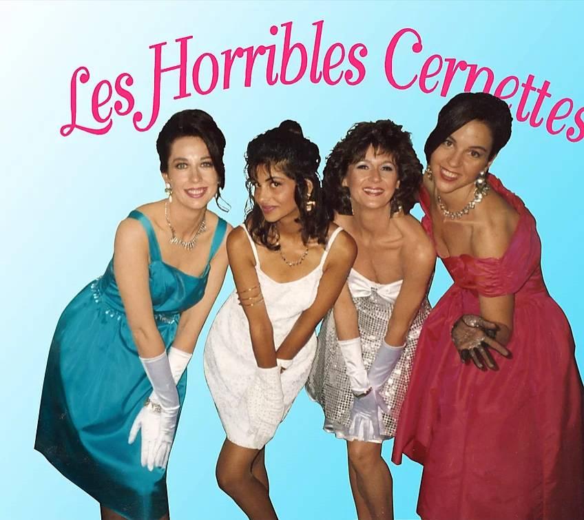 Cernettes Photo - Les Horribles Cernettes, la única y exclusiva banda de rock de alta energía están de vuelta
