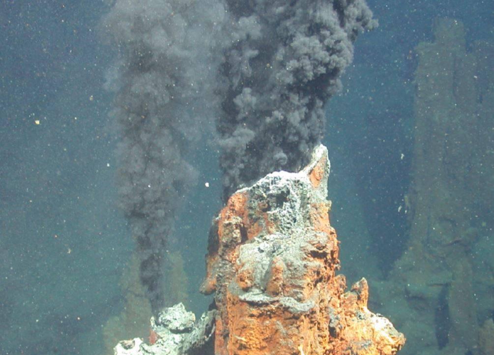 Chimenea de ventilación hidrotermal