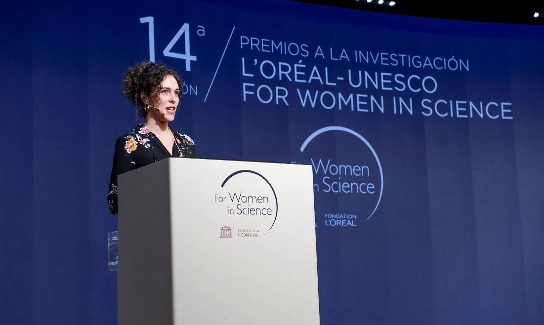 Cristina Romera - Cristina Romera, ganadora de L'Oréal-UNESCO For Women in Science :Solo se ha contabilizado el 1 % de todo el plástico que entra al mar