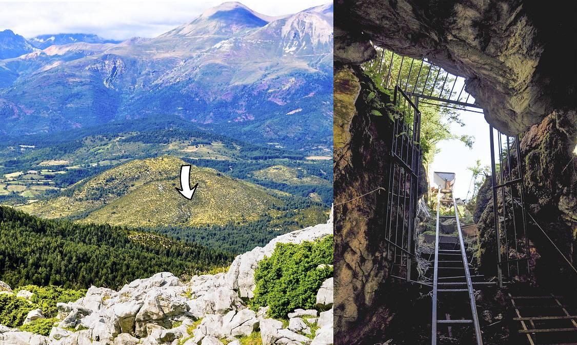 cueva1 - Cueva de Els Trocs en Huseca ,refugio de los primeros trashumantes de Europa