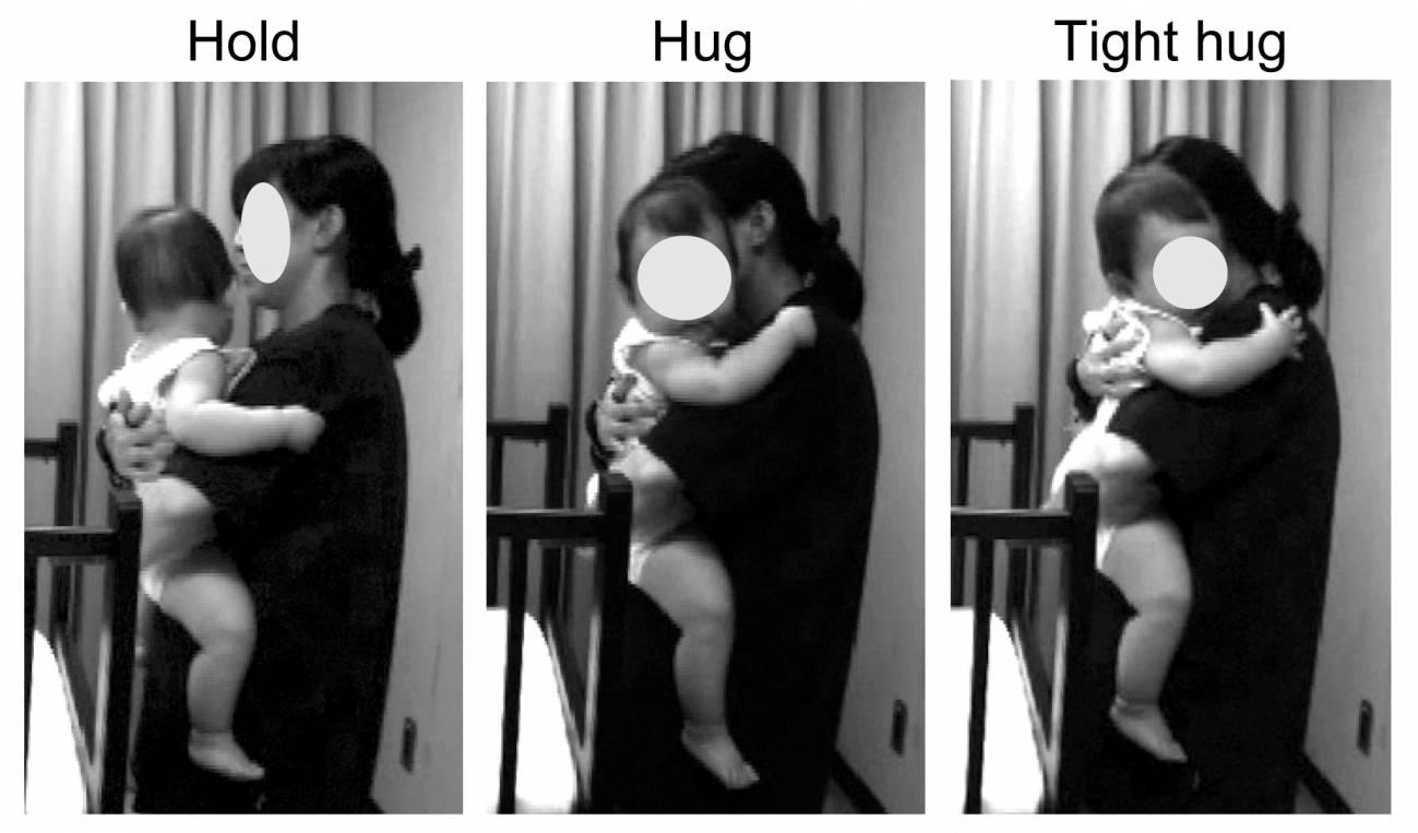 Diferentes formas de abrazar