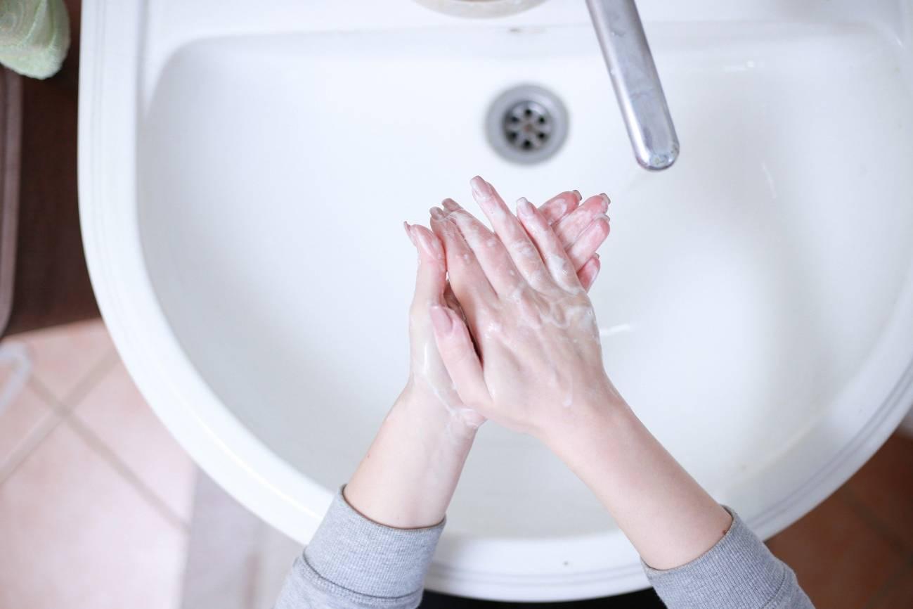Lávate bien las manos