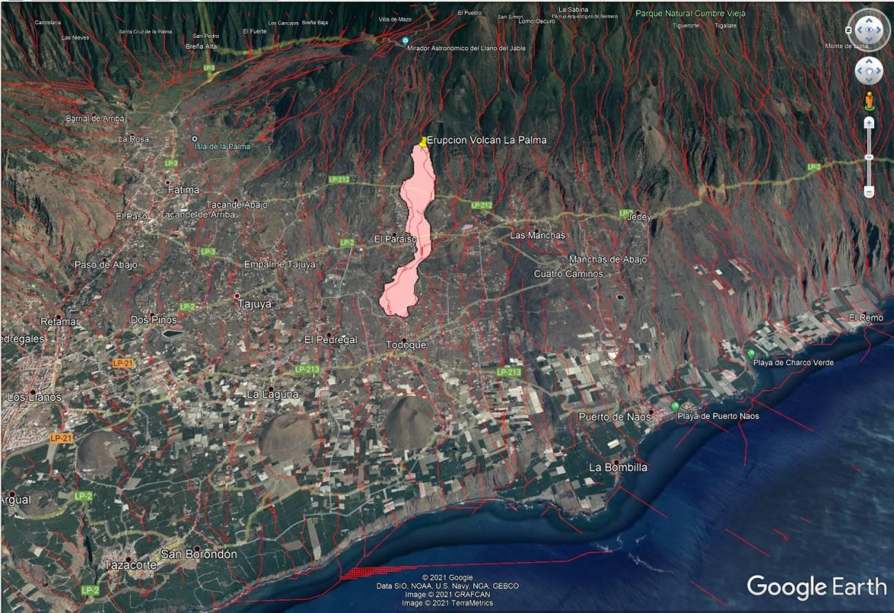 Imagenes satelite - Guía rápida sobre actividad volcánica en las Islas Canarias :  ¿Es lo mismo lava que magma? ¿Por cuántas bocas puede salir? ¿Cuánto durará?