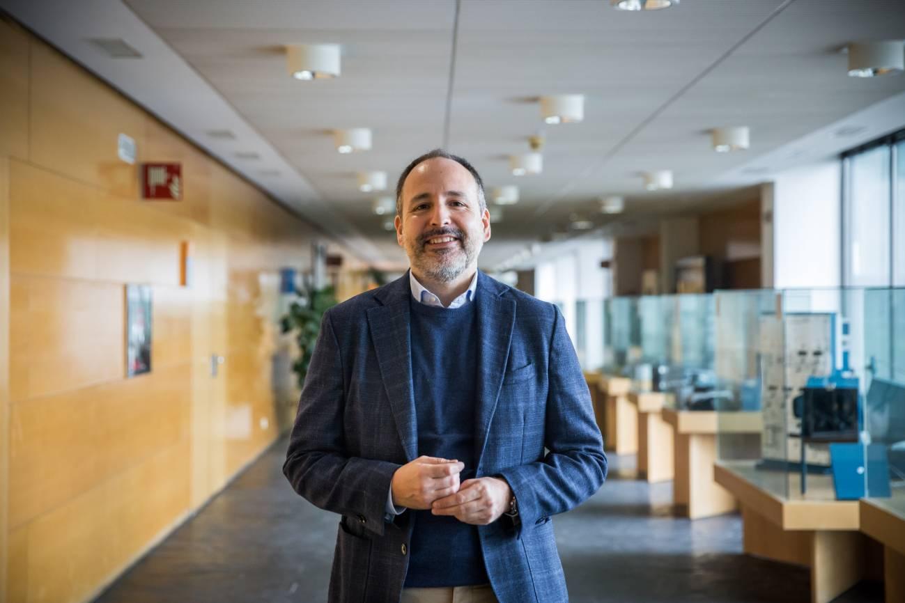 David Lois, del Centro de Investigación del Transporte TRANSyT-UPM / Álvaro Muñoz (SINC)