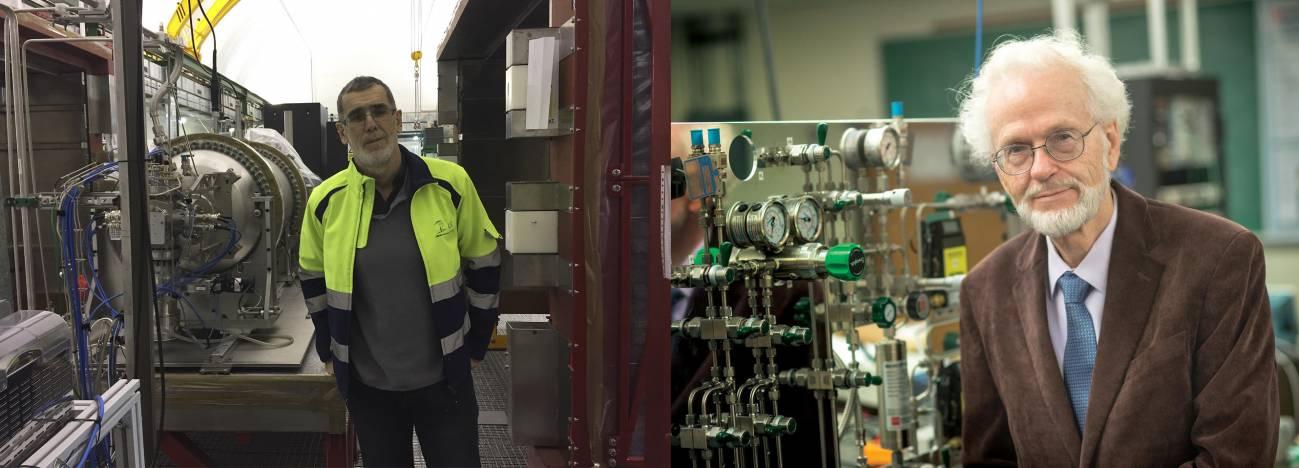 Investigadores - Científicos del País Vasco demuestran posible construir sensor fluorescente para estudiar los neutrinos y el origen del universo