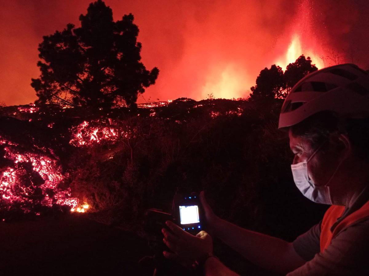 INVOLCAN - Como  enfrenta la ciencia de España al volcán de La Palma