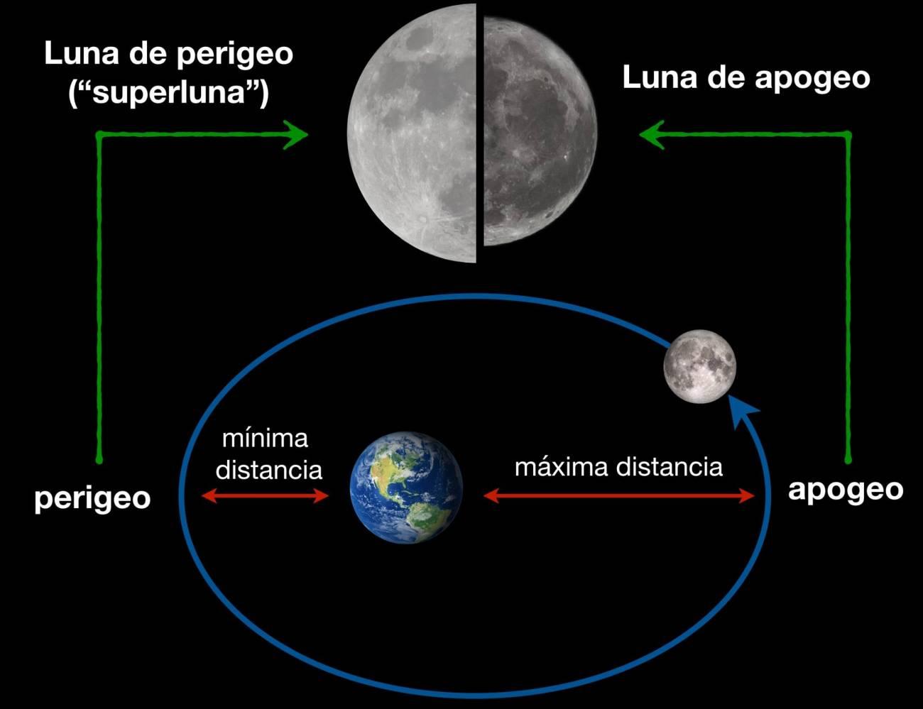 luna perigeo - Noches de Verano invitan a buscar cielos oscuros y dirigir nuestra mirada hacia las estrellas y los planetas.