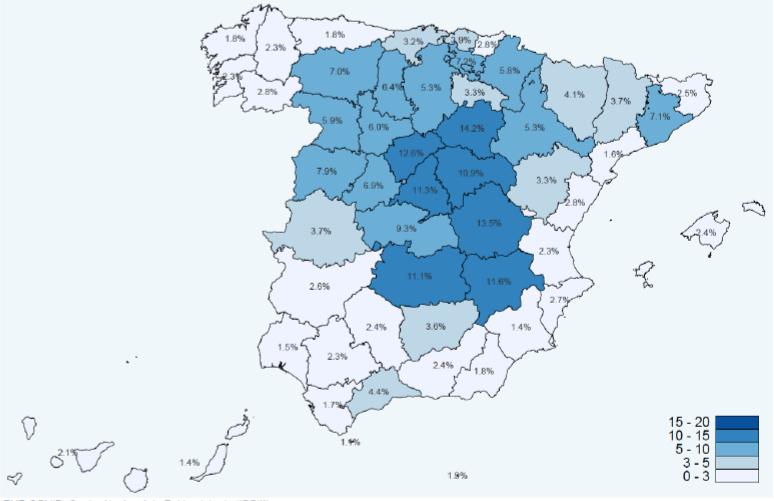 mapa provisional anticuerpos
