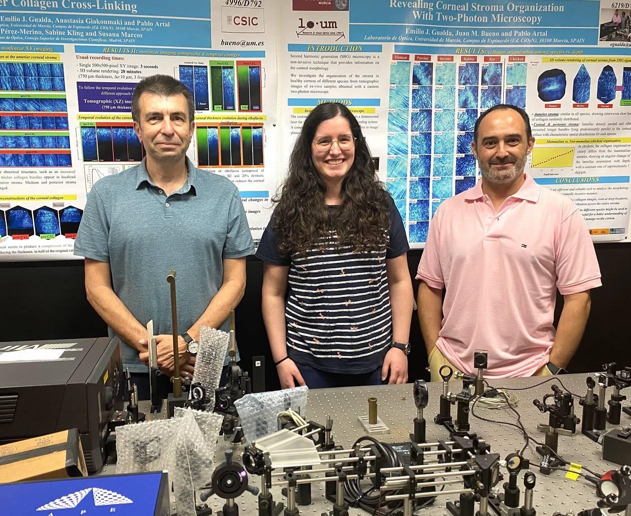 PArtal RMartinez JMBueno LOUM - Científicos del País Vasco demuestran posible construir sensor fluorescente para estudiar los neutrinos y el origen del universo
