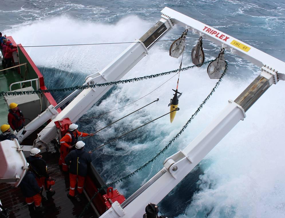 Robot oceánico