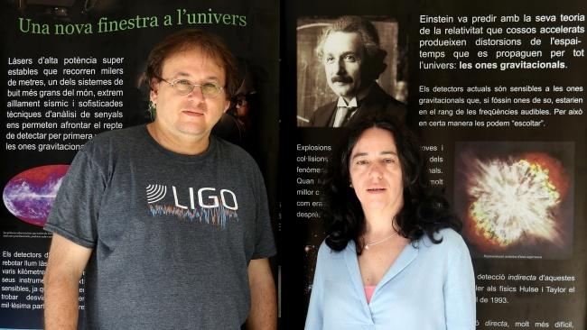 """sintes y sasha - Alicia Sintes : """"Es fascinante, las ondas gravitacionales nos descubrirán fenómenos que no podemos ni imaginar"""""""