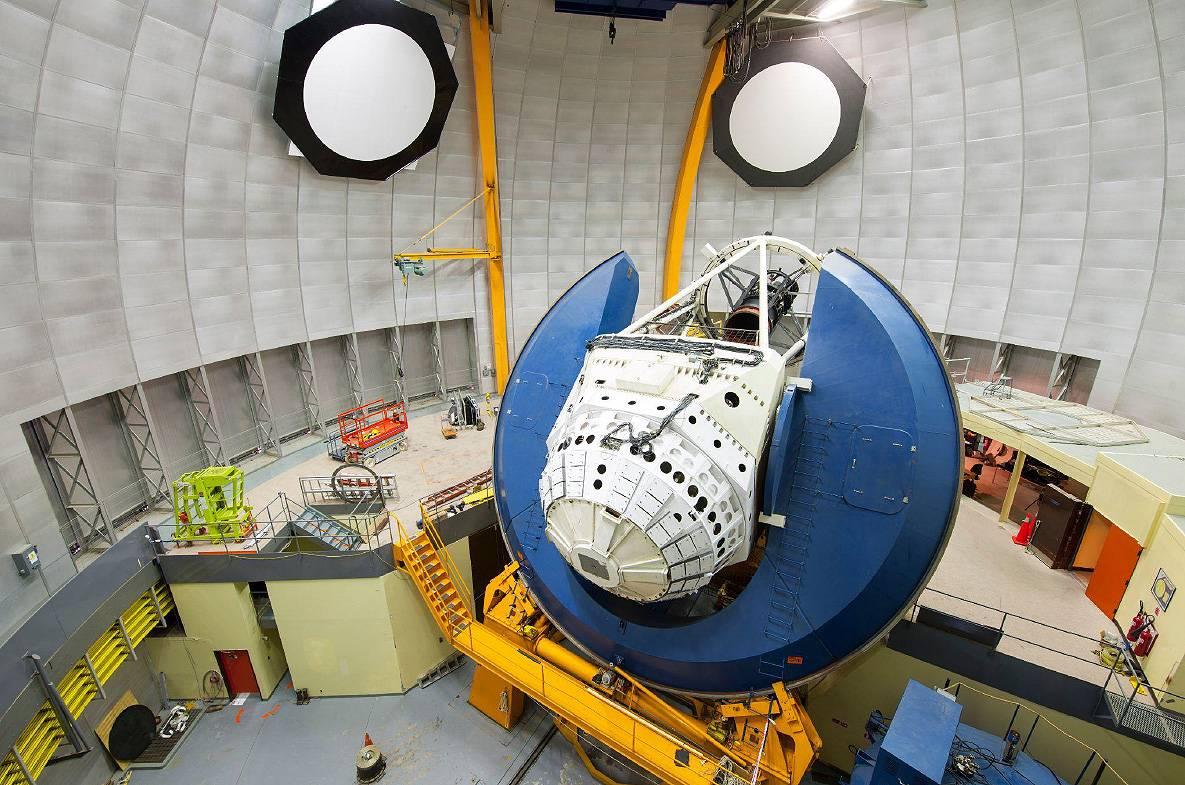 telescopio - Dark Energy Survey (DES) crea los mayores mapas de la materia del universo