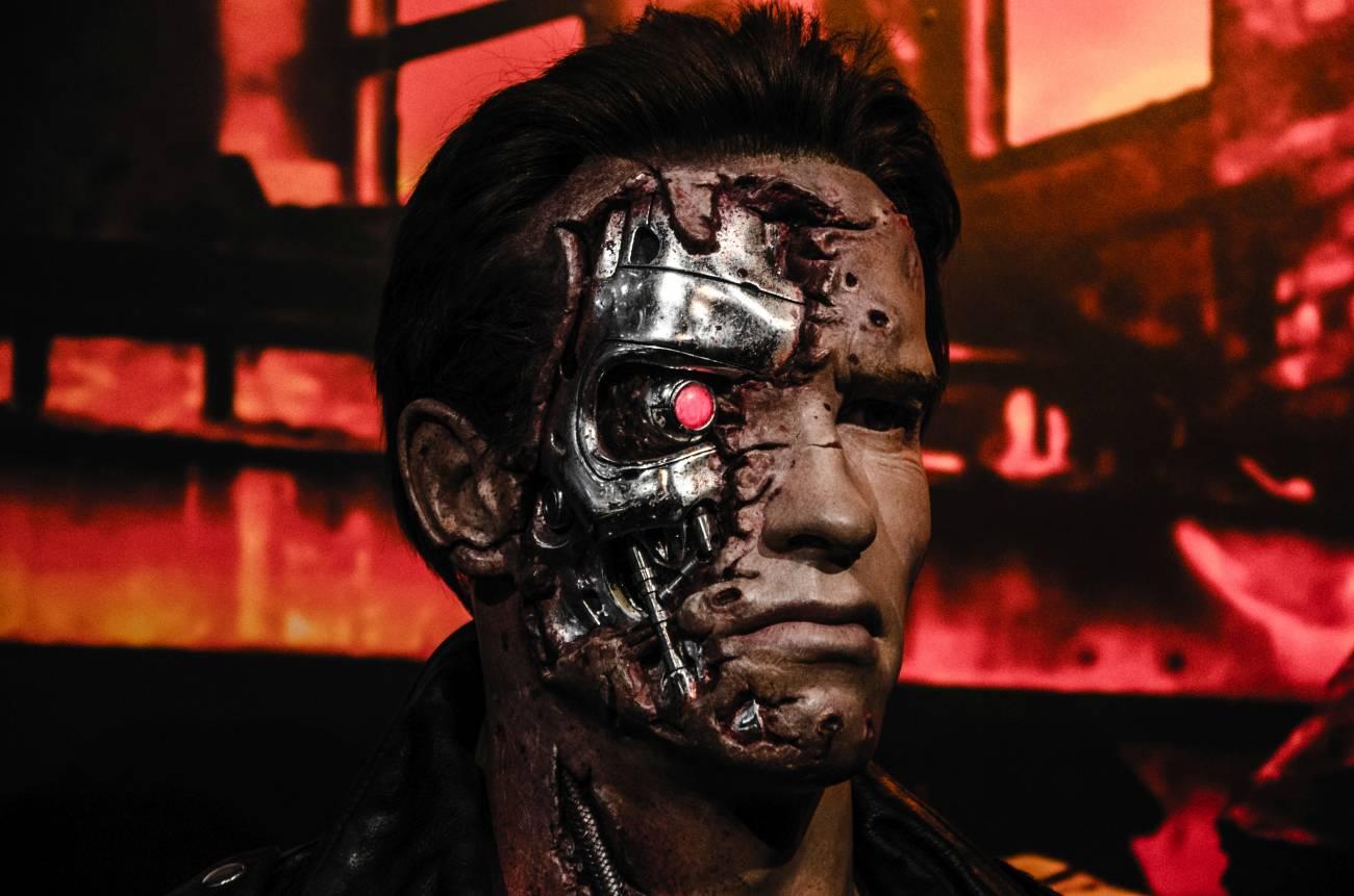 Terminator de cera Madame Tussaud