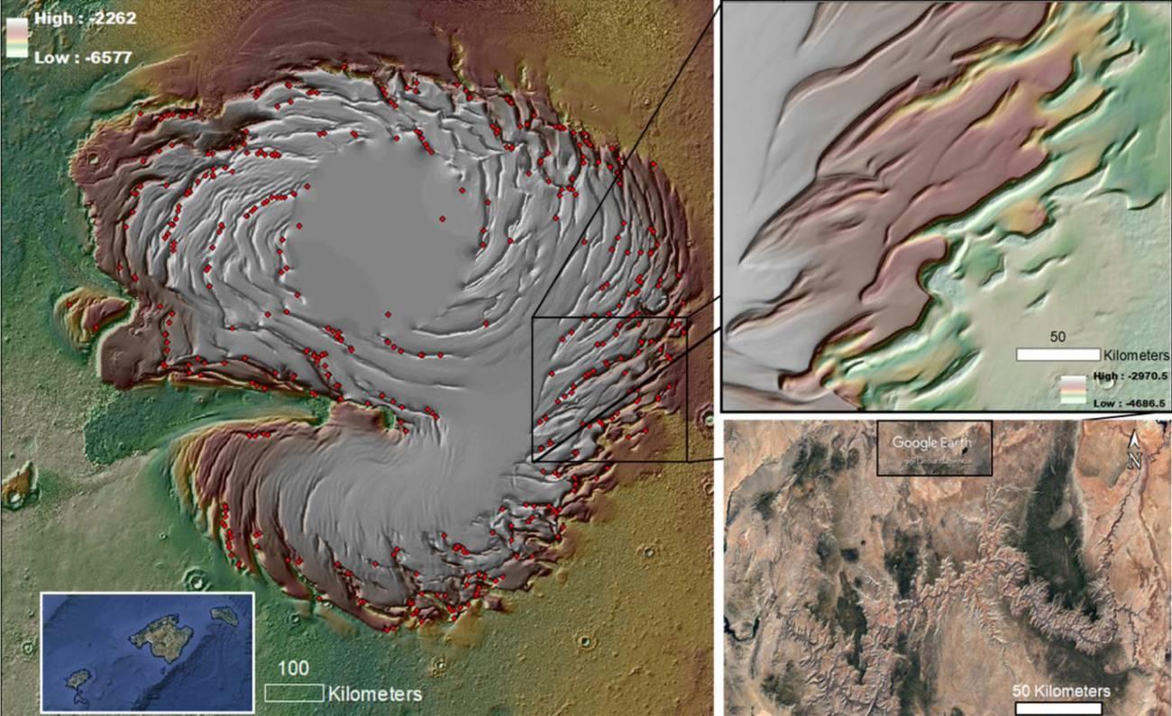 thumbnail2 - Descubierto el  misterio de los cañones de Hielo  de Marte con forma espiral