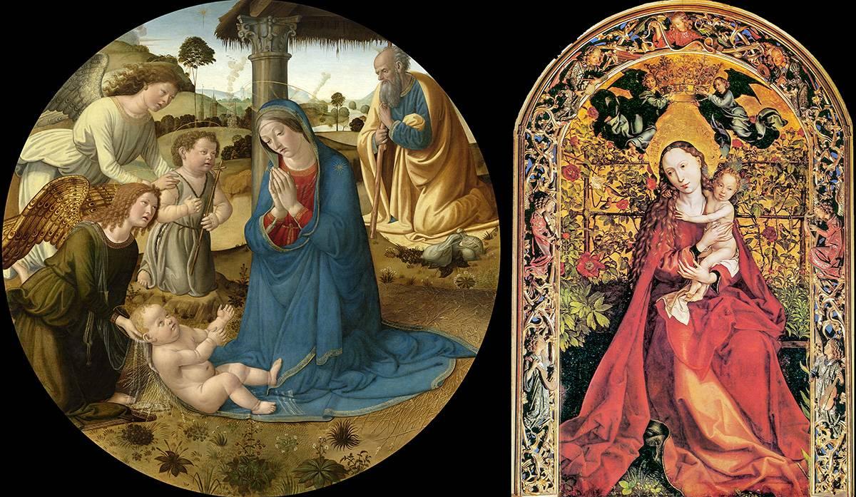 virgen - Para complementar estudios genómicos de plantas que nos dan de comer, un biólogo y un historiador  plantean fijarse en las pinturas artísticas