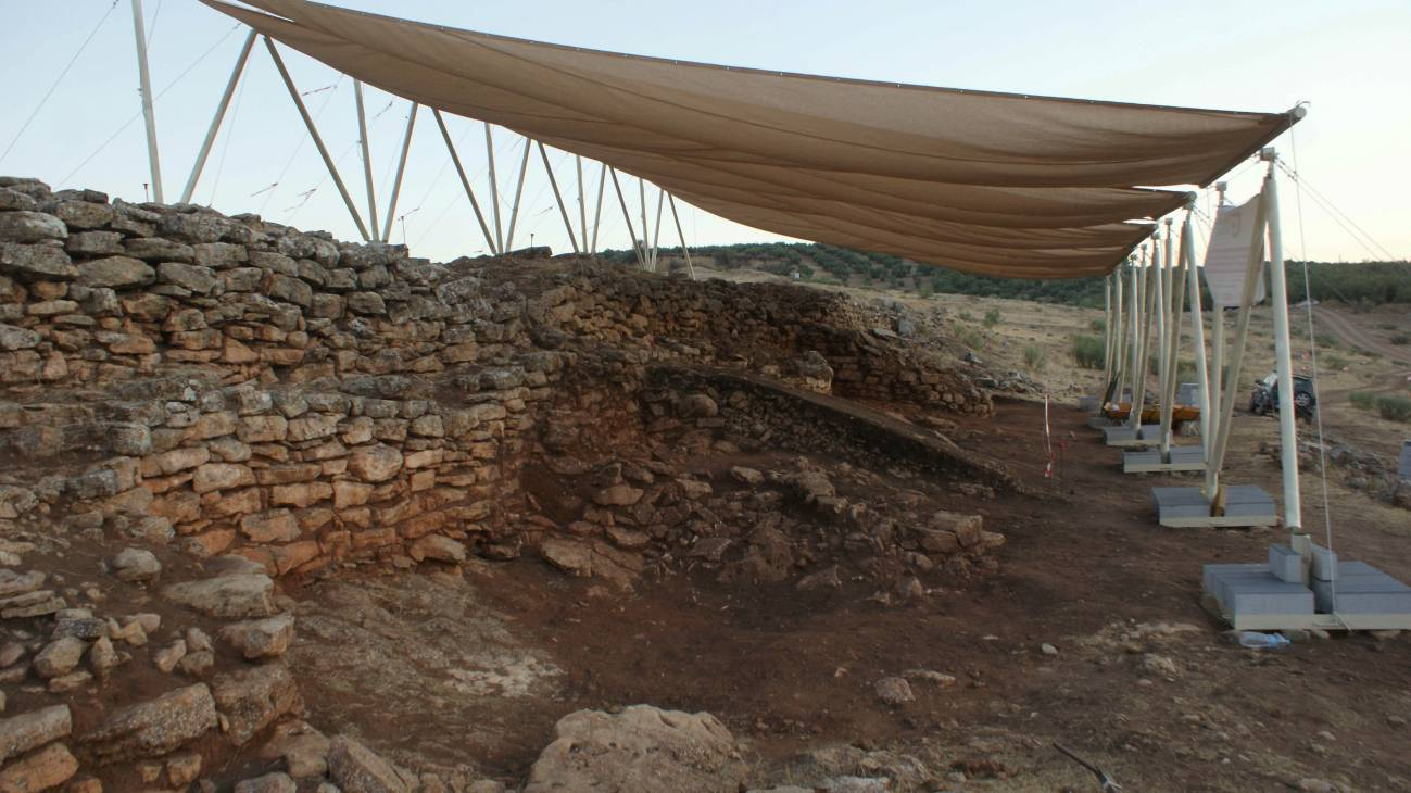 Vista general de la muralla