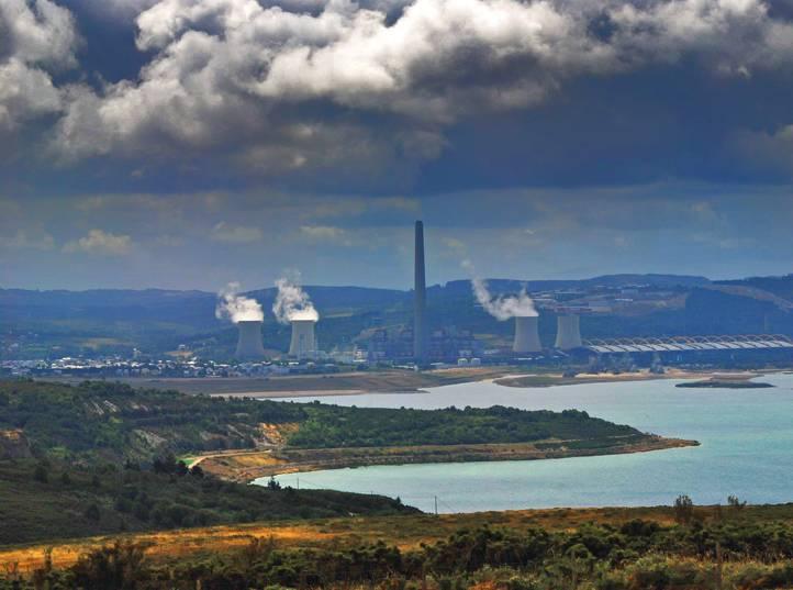 Las centrales de carbón han doblado su producción en 2011.