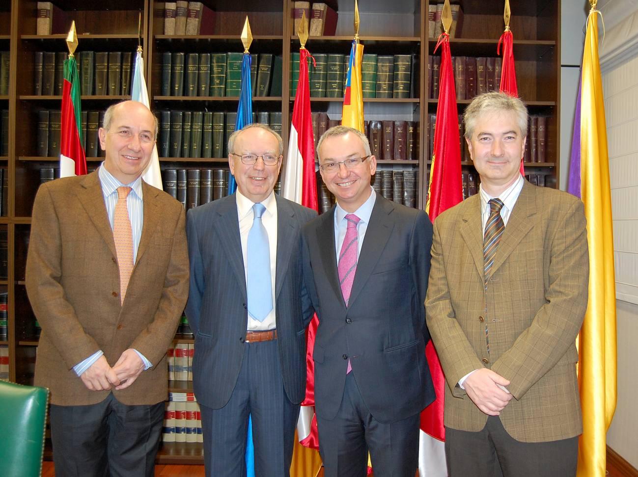 Cuatro de los más prestigiosos investigadores españoles en Oncología