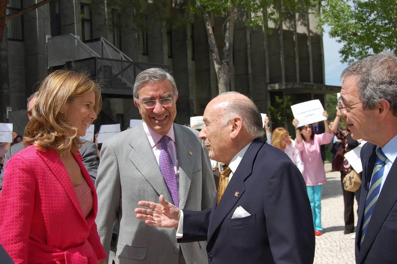 Toma de posesión de César Alierta como presidente del Consejo Social de la UNED