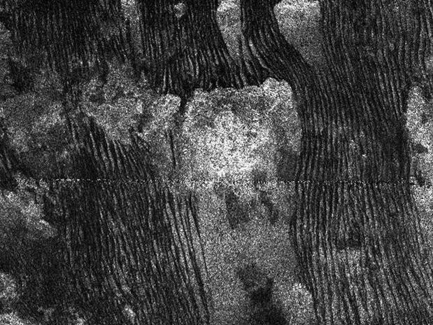 Formaciones dunares en Titán. / NASA