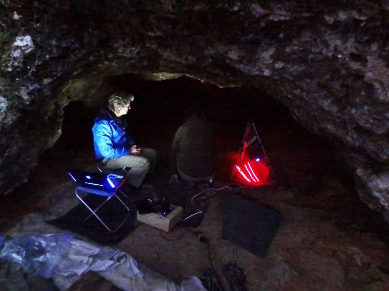 Escaneado en 3D de la fosa donde se encontró el esqueleto de neandertal. / Cedida Archéosphere