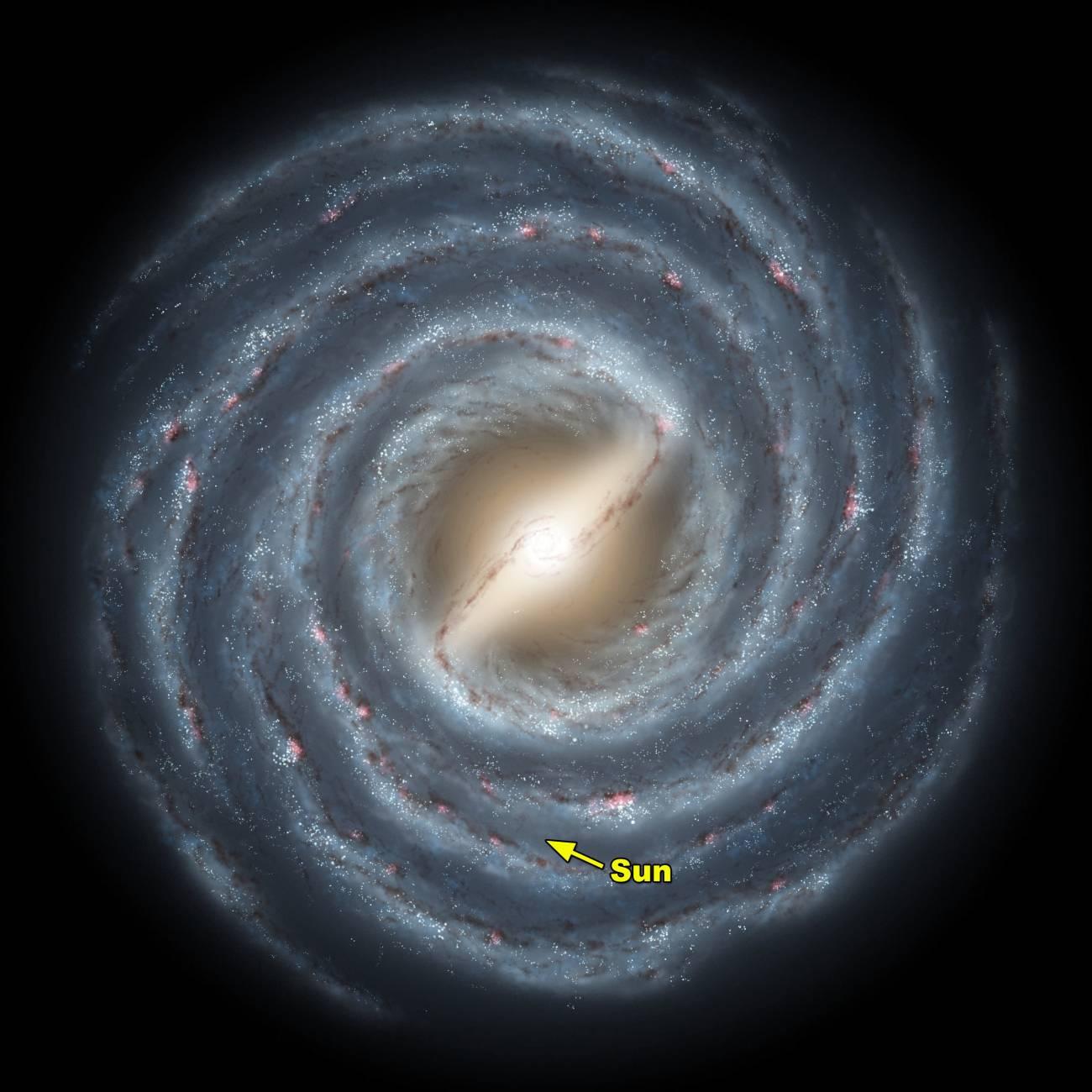 Descubren un camino para ver lo más oscuro de la Vía Láctea