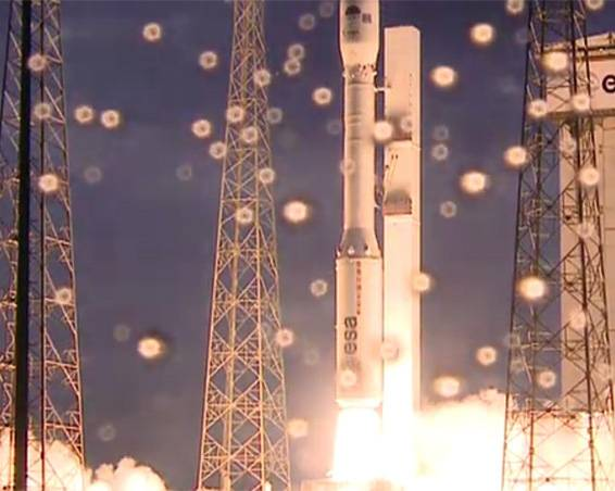 Vega ha despegado desde el Puerto Espacial Europeo en la Guayana Francesa. Imagen: ESA.