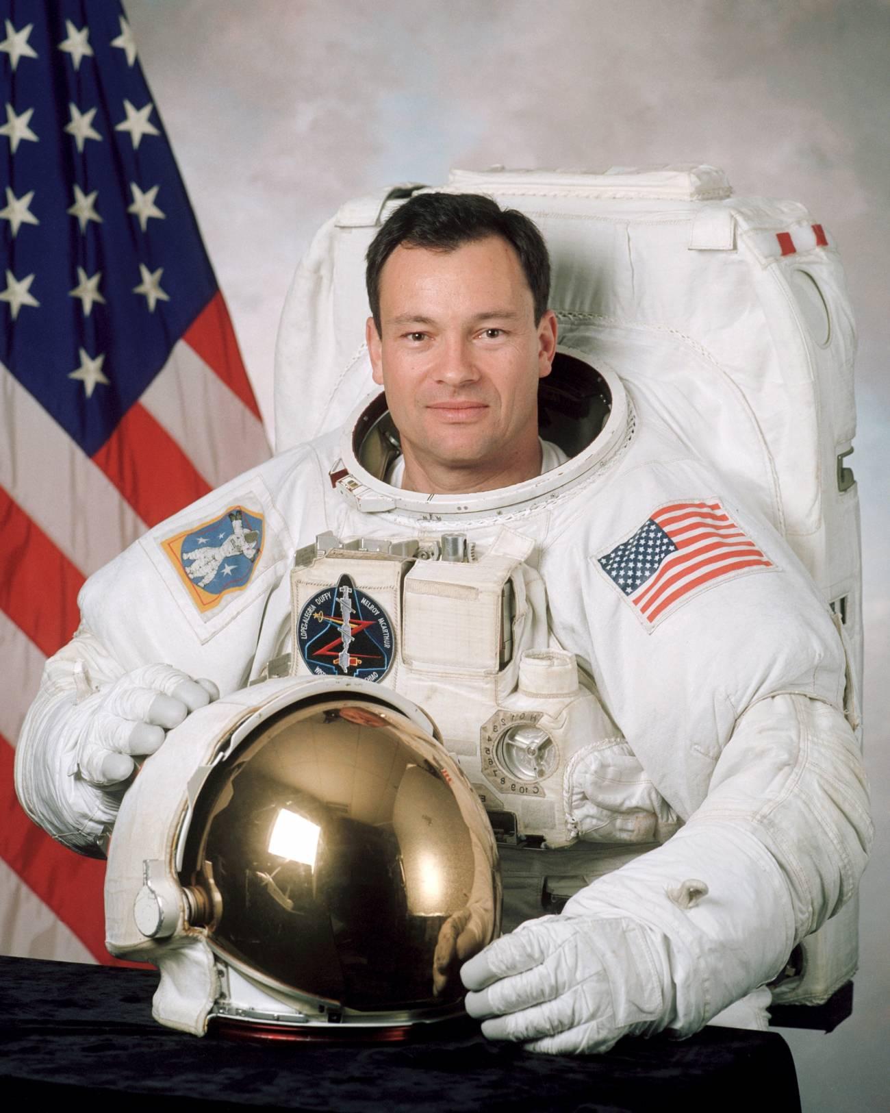 El astronauta Miguel López Alegría. Imagen: NASA