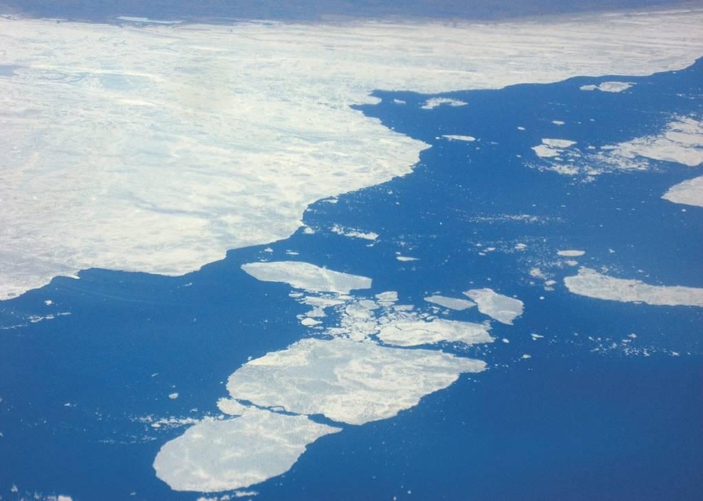 El ártico a vista de pájaro. Imagen por Jonathan Pio