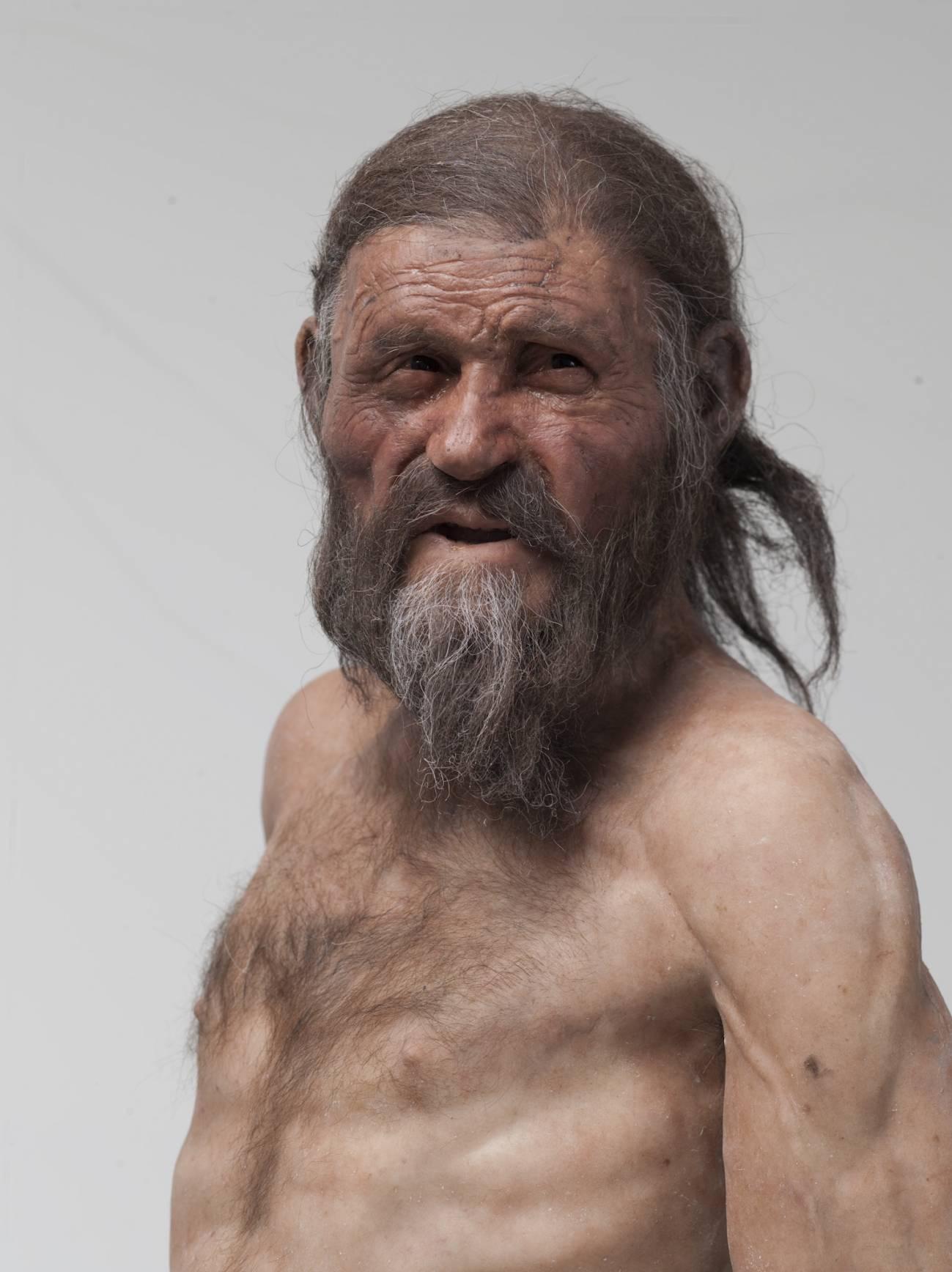 Reconstrucción de Ötzi