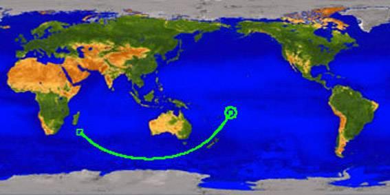 El satélite UARS de la NASA cayó en Oceanía