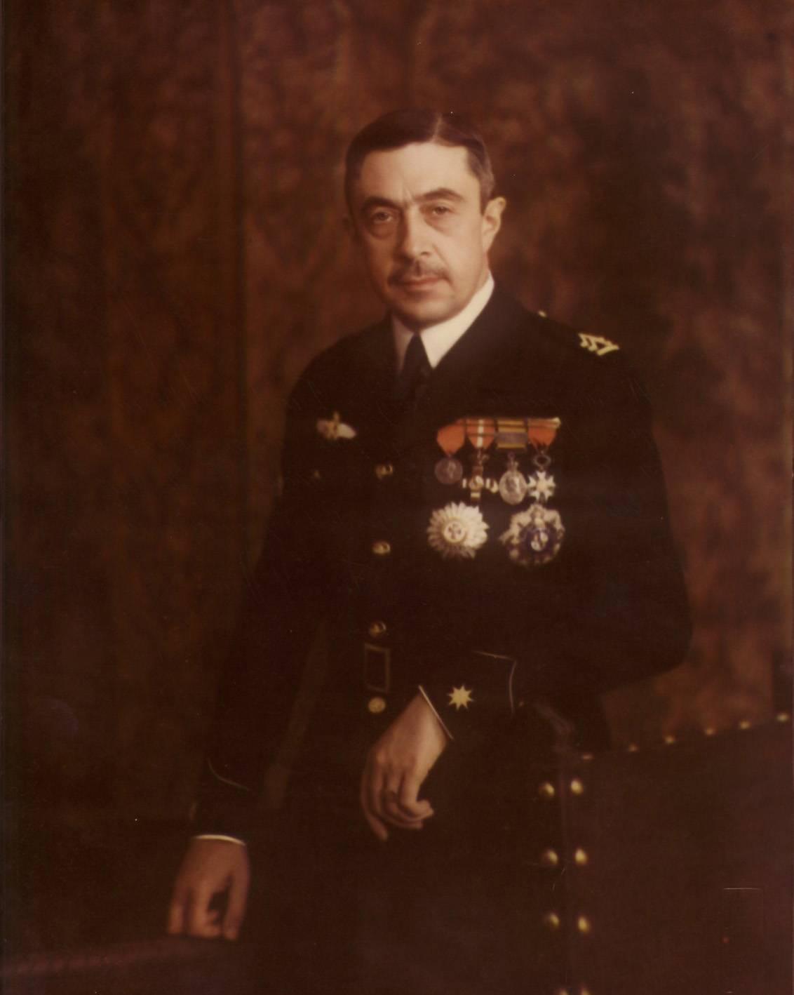 Retrato del ingeniero militar Emilio Herrera. / Instituto de Historia y Cultura Aeronáuticas