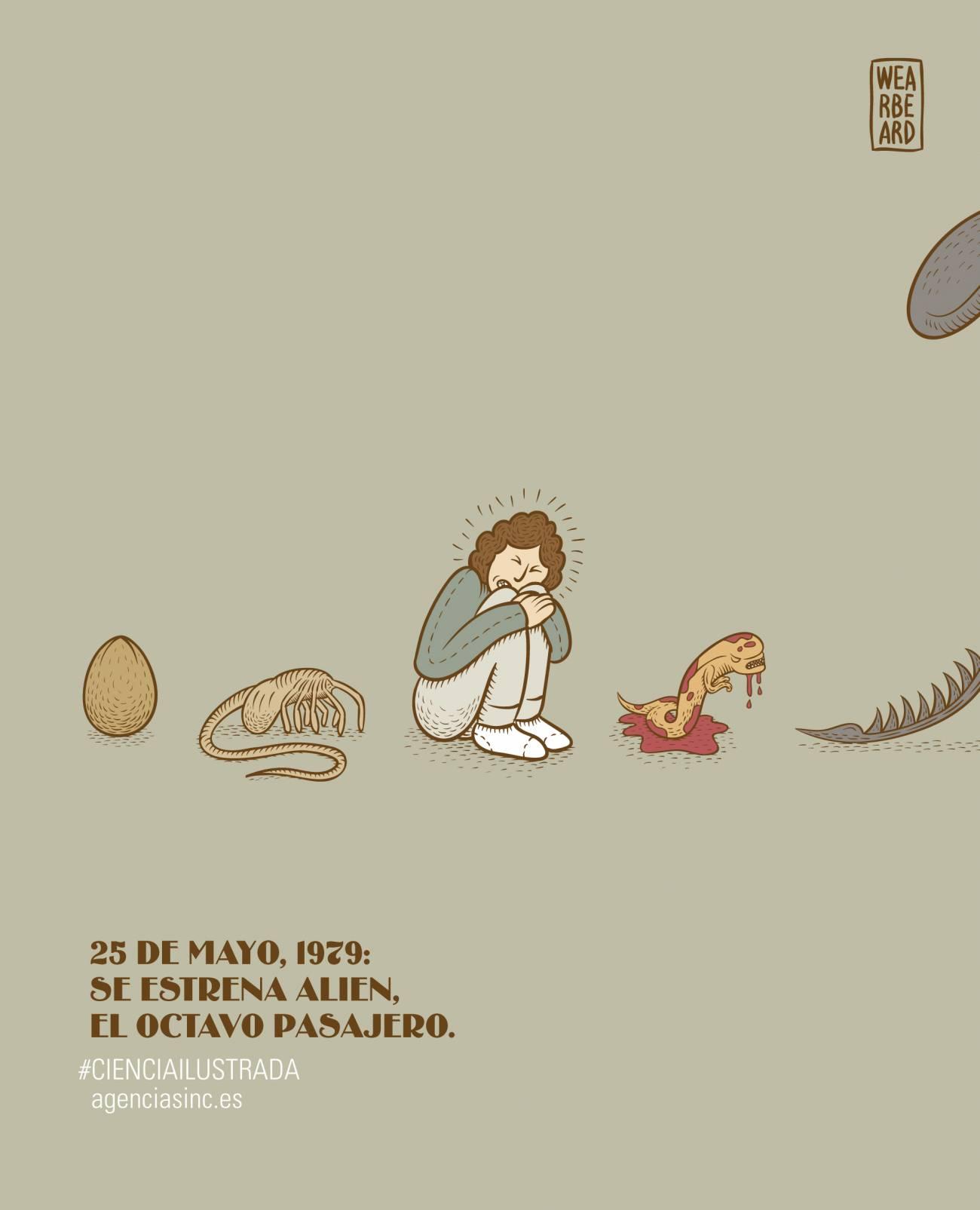 Se cumplen 35 años del estreno de Alien, el octavo pasajero. / SINC