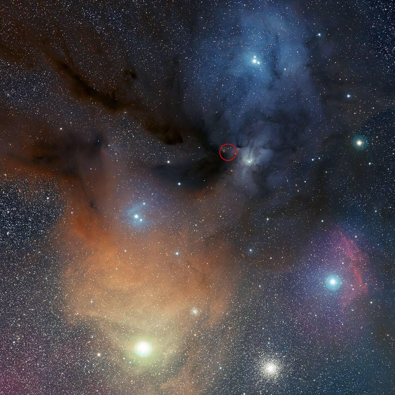 Encuentran agua oxigenada en el espacio