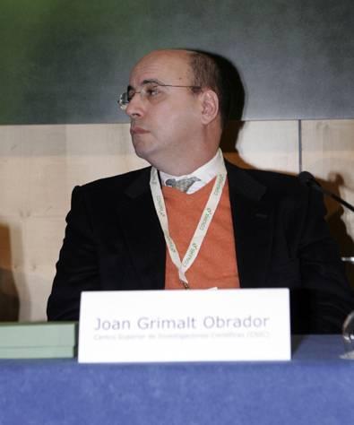 Joan Grimalt, director del Instituto de Diagnóstico Ambiental y Estudios del Agua. Imagen: Conama.
