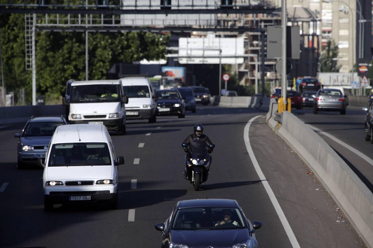 Tráfico en la ciudad de Madrid. / SINC
