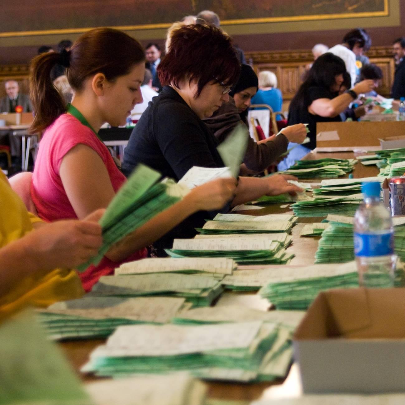 El sistema sugiere que la manipulación electoral puede ser gradual o extrema. Imagen: