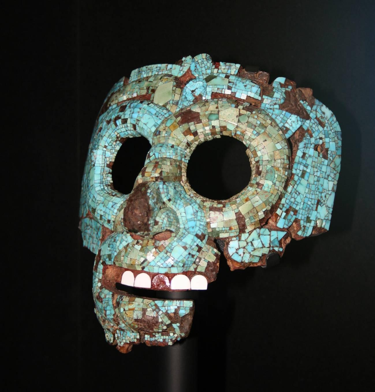 Investigadores españoles hallan en México las raíces del color azul maya