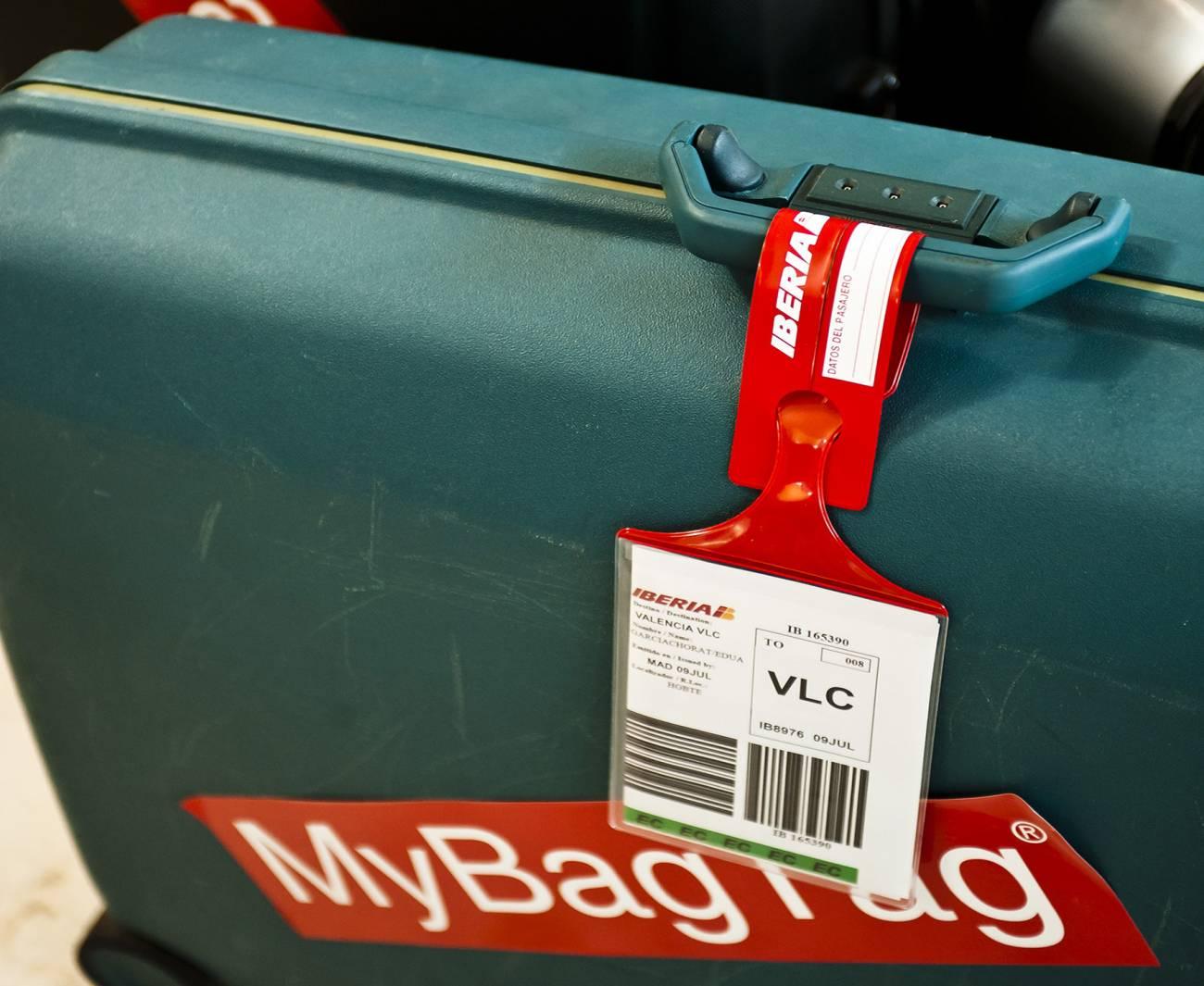 Los viajeros solo tendrán que depositar las maletas en los mostradores de entrega rápida. /Iberia