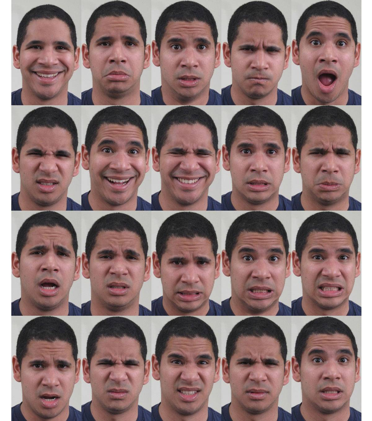 Las expresiones faciales humanas pueden reflejar más emociones de lo que se pensaba. / Aleix Martínez