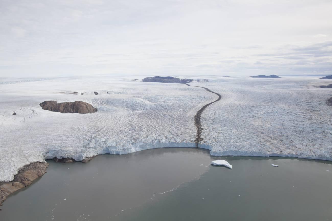 Una de las fotografías del noroeste de Groenlandia tomadas por los investigadores. Imagen: J. Korsgaard / Museo de Historia Natural de Dinamarca.