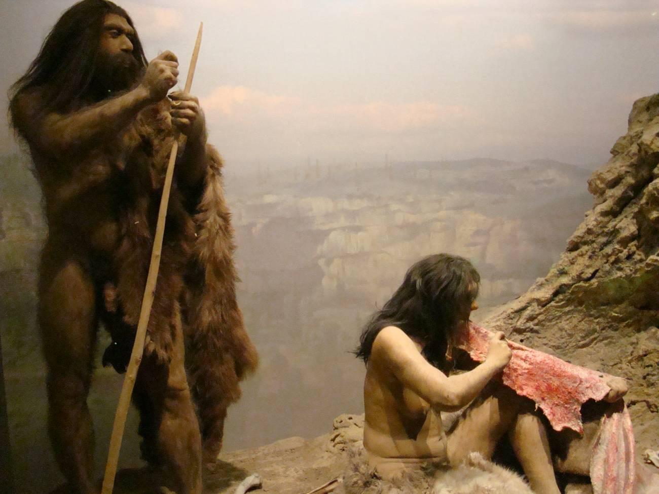 Según el estudio, los neandertales empezaron a disminuir mucho antes de la erupción del volcán y de los periodos de cambio climático severo. Imagen: IslesPunkFan.