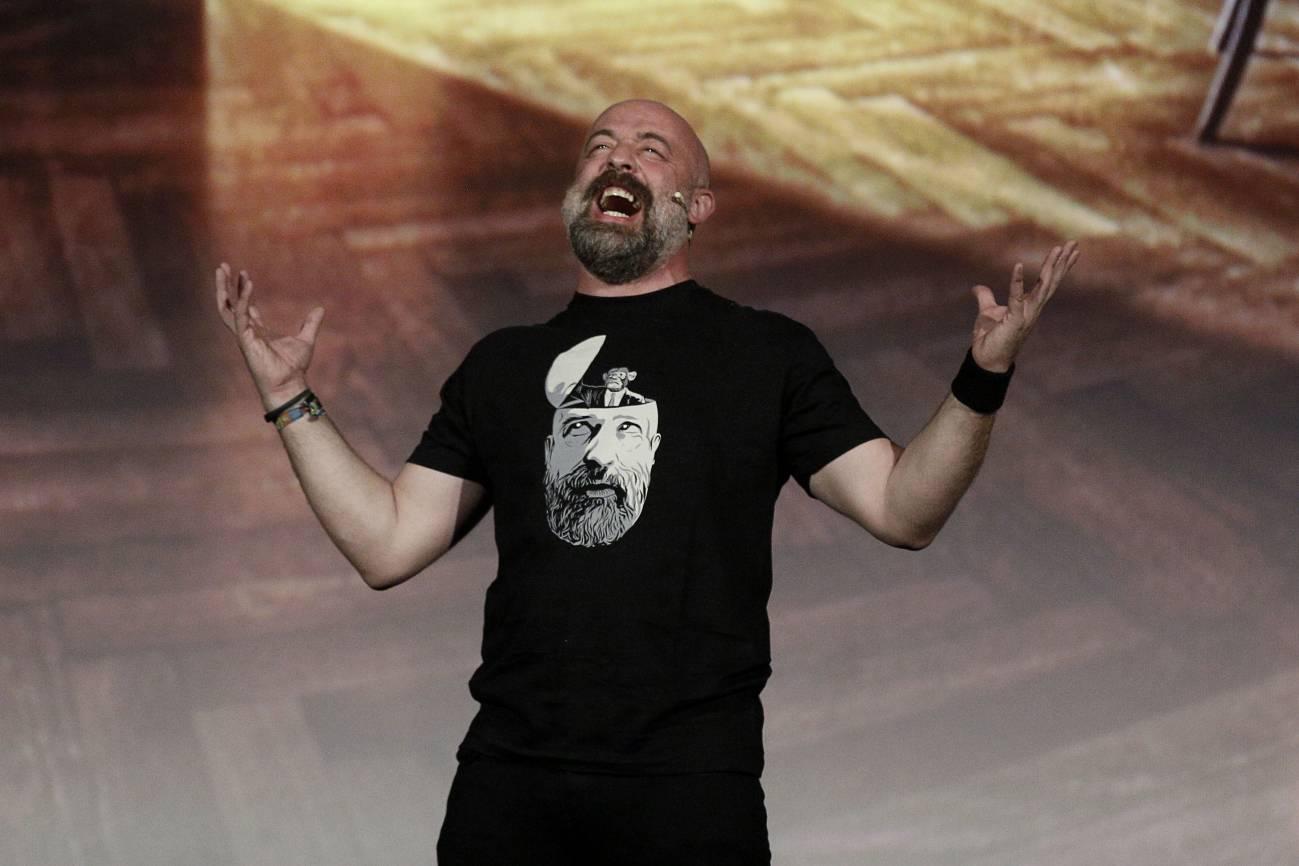 Goyo Jiménez durante su espectáculo Evoluzion. / Sinc