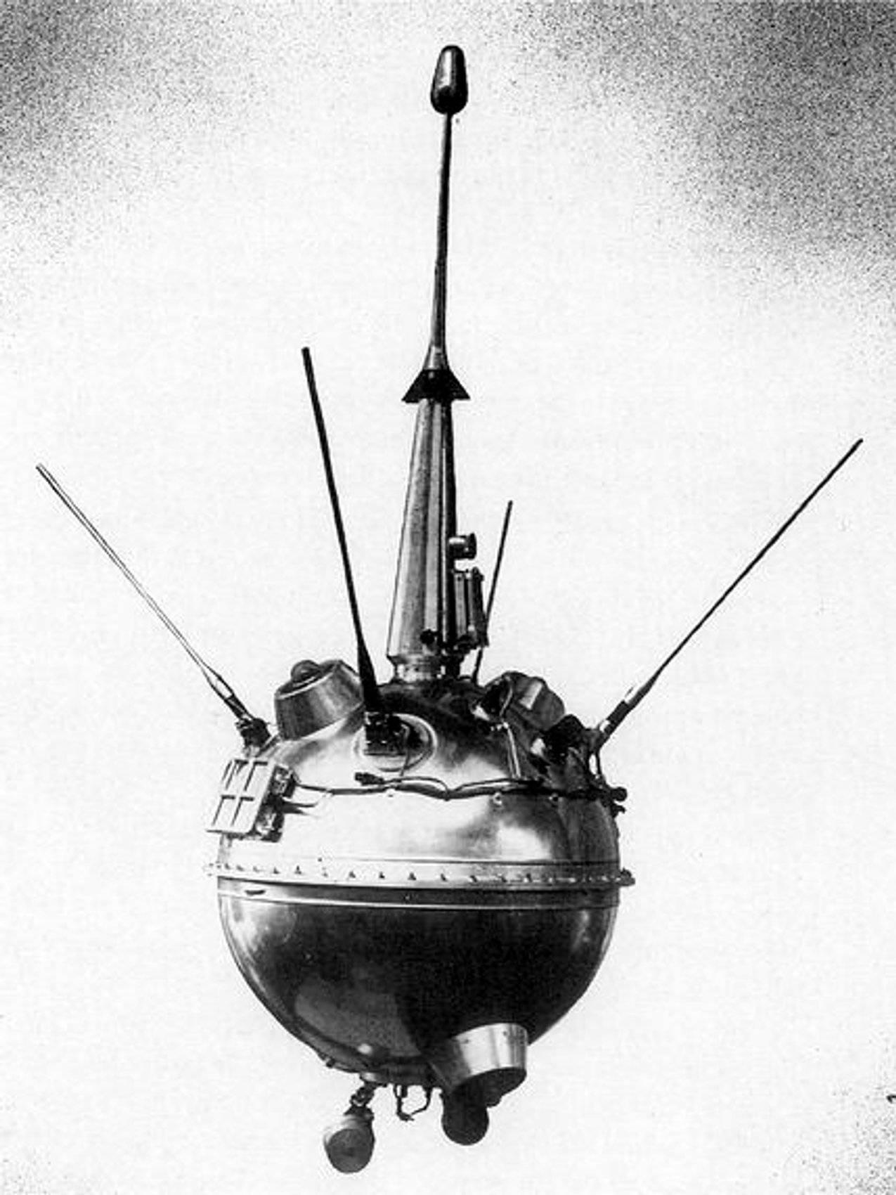 La sonda espacial Luna 2. / NASA