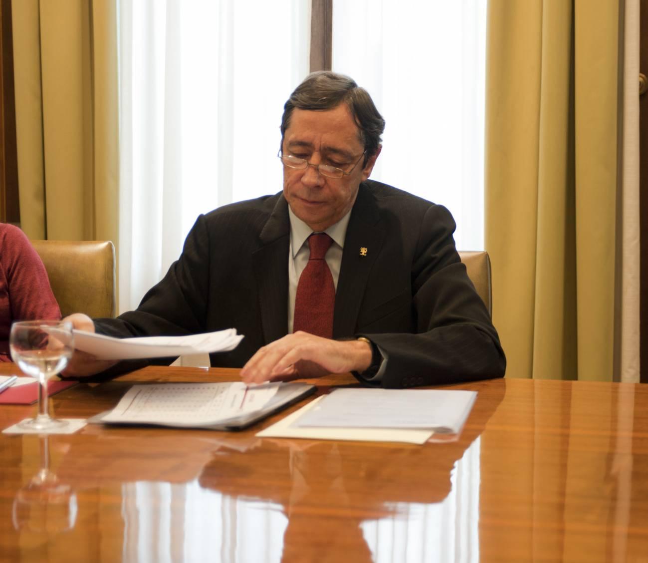 El presidente del CSIC, Rafael Rodrigo