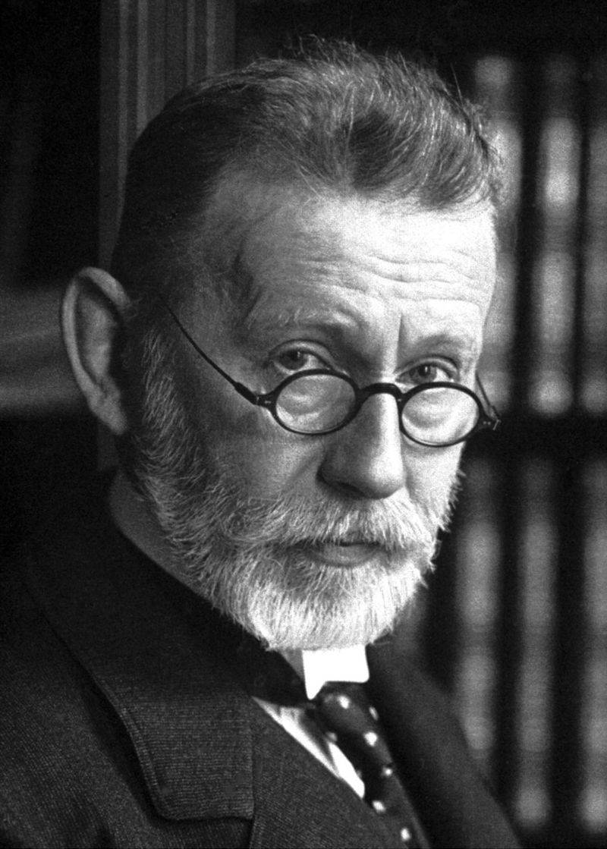El inmunólogo alemán Paul Ehrlich. / Wikipedia
