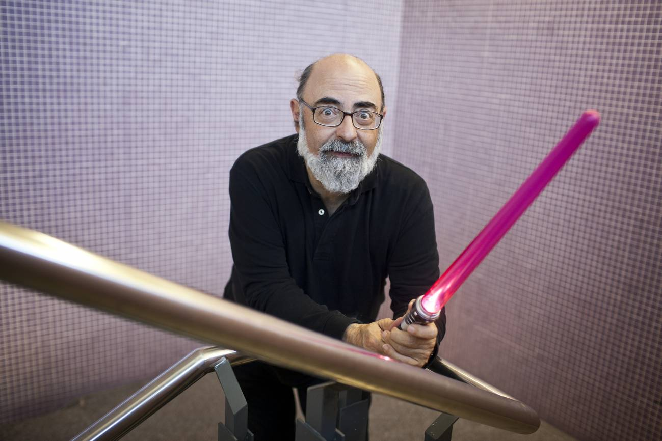 Miquel Barceló, profesor y especialista en ciencia ficción. Imagen: SINC