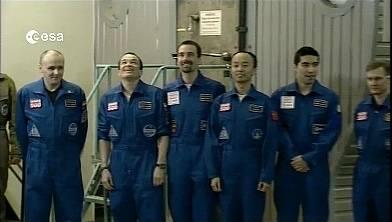 La tripulación de Mars500 ya está en casa