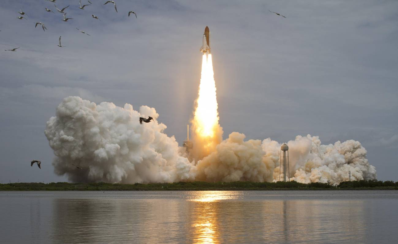La última misión del 'Atlantis' despega con éxito